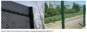 expanded metal fencing and welded wire fabric fence