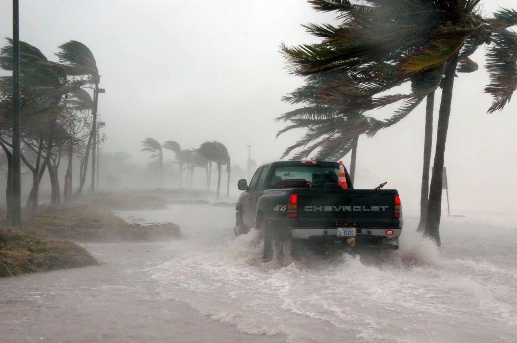 hurricane winds florida