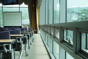 modern classroom school security windows