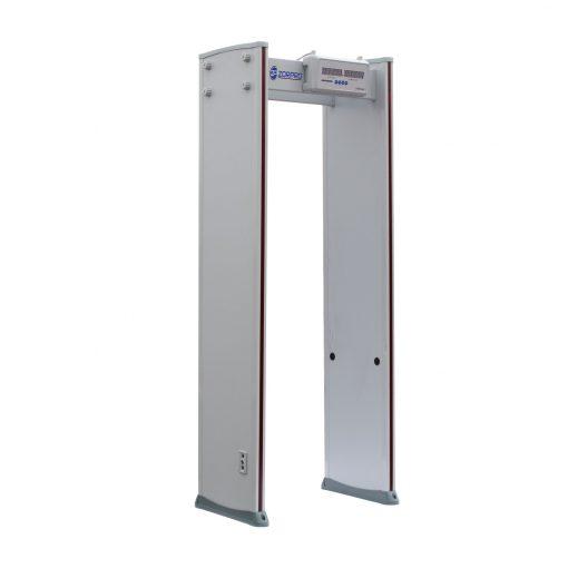 zorpro 6 zone walkthrough metal detector
