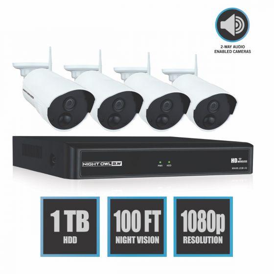 nightowl wireless security camera system