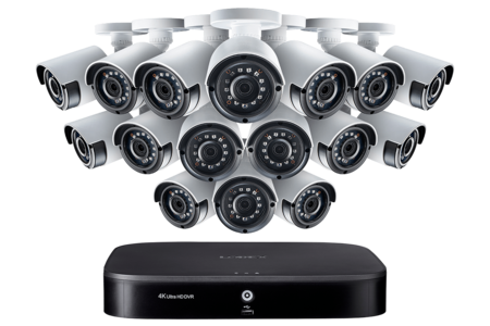 lorex 16-channel hd security camera system