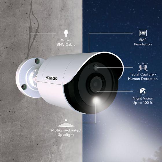 nightowl security hd spotlight camera